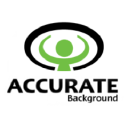 Accurate Background logo