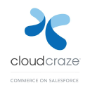 CloudCraze: Enterprise eCommerce. Native on Salesforce. Global. Social. Mobile logo