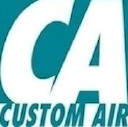 Custom Air Conditioning and Heating logo