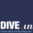 DIVE.in Scuba Diving Magazine logo