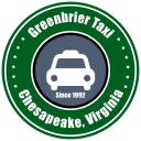 Greenbrier Taxi logo