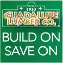 Guadalupe Lumber Co. Inc. logo