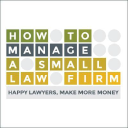 How To MANAGE a Small Law Firm.com logo