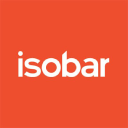 Isobar Norge as logo