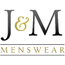 J & M Menswear logo