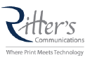 Ritter's Printing and Direct Mail logo