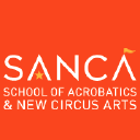 School of Acrobatics and New Circus Arts logo