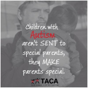 Talk About Curing Autism (TACA) logo