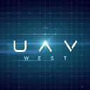 UAV West logo