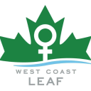 West Coast LEAF (Legal Education and Action Fund) logo