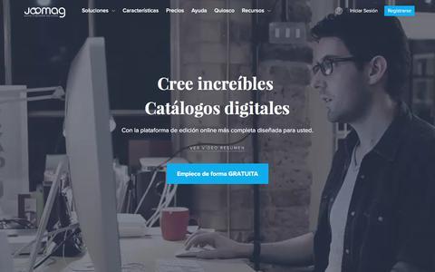 Plataforma de publicación digital para todo el mundo | Joomag