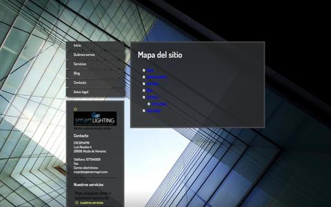Screenshot of Site Map Page enermapri.com - ENERMAPRI: Asesores de confianza - captured Sept. 30, 2014