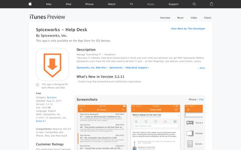 Spiceworks - Help Desk on the App Store
