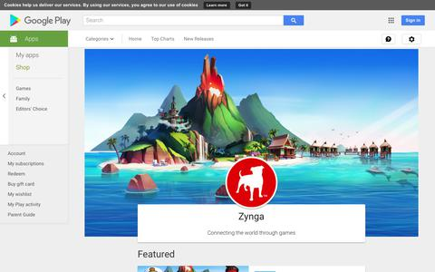 Zynga - Apps on Google Play
