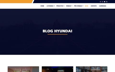 Screenshot of Blog hhib.com.br - Hyundai Heavy Industries Brasil .: Blog :. - captured Jan. 28, 2020