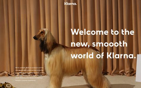 Klarna. - Smoooth payments.