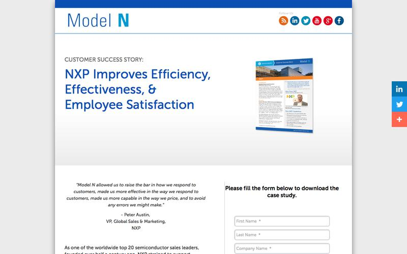 NXP Improves Efficiency, Effectiveness, & Employee Satisfaction