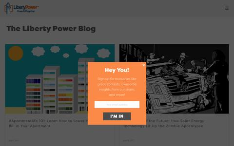 The Liberty Power Blog