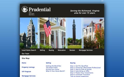 Screenshot of Site Map Page psjr.com - Site Map | psjr.com - captured Oct. 3, 2014