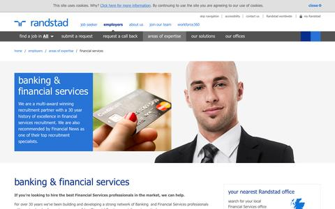 financial services | Randstad.co.uk