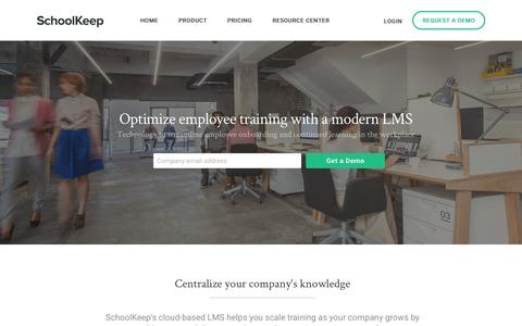 Employee Training Solutions for Businesses | SchoolKeep
