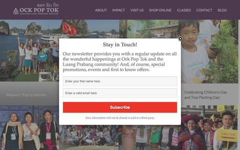 Screenshot of Blog ockpoptok.com - Our Blogs | - captured Sept. 21, 2018
