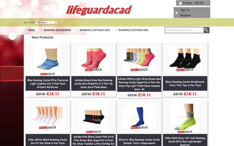 Screenshot of Home Page lifeguardacademy.co.uk - Compare Prices on Cheap Sunglasses : Hats,Hair Accessories - captured Feb. 6, 2018