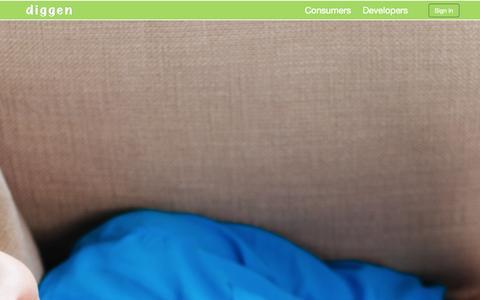 Screenshot of Developers Page diggen.com - Developers | Diggen | People First Digital Marketing - captured Sept. 30, 2014