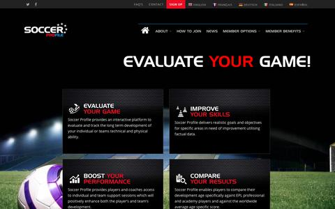 Home - Soccer Profile, Soccer Player Profiling, Performance, Skills, Analysis