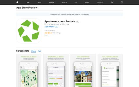 Apartments.com Rentals on the AppStore