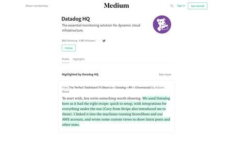 Datadog HQ – Medium