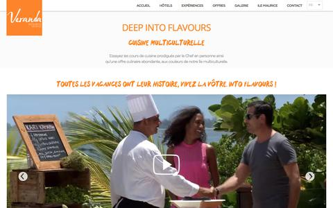 Deep into flavours - Veranda Resorts, Île Maurice | Veranda