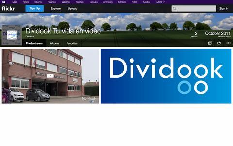 Screenshot of Flickr Page flickr.com - Flickr: Dividook's Photostream - captured Oct. 23, 2014