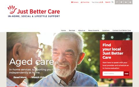 Just Better Care | Home