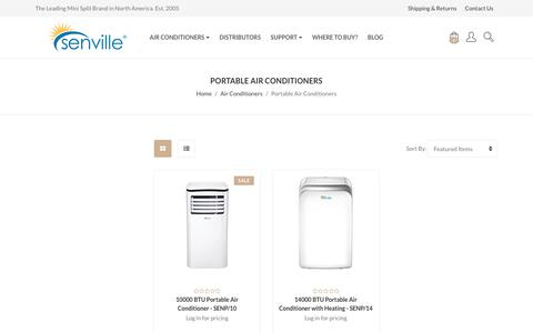 Air Conditioners - Portable Air Conditioners - Senville
