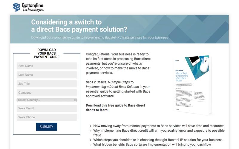 Bacs payments made easy - download free Bacstel IP guide
