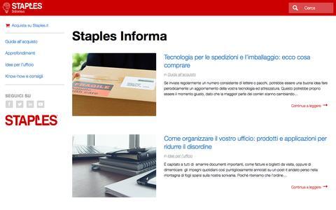 Staples Informa | Staples®