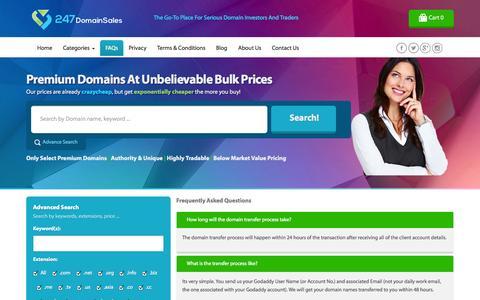 Screenshot of FAQ Page flipping.info - Flipping Info - captured Nov. 3, 2014