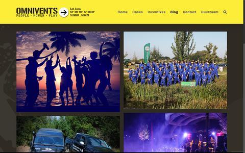 Screenshot of Blog omnivents.nl - Blog | Omnivents People Power Play - captured Sept. 29, 2018