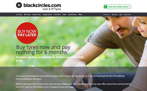 Finance Options on Tyres | Blackcircles.com