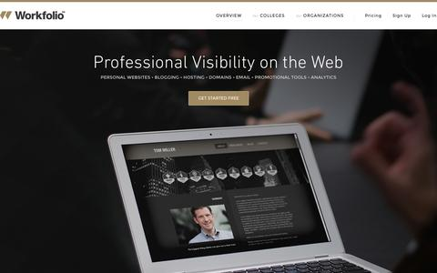 Personal Websites | Workfolio