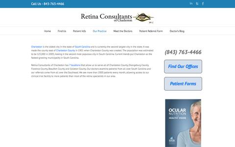 Trials Patients | Retina Consultants of Charleston