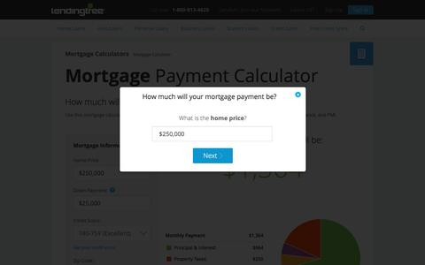 Mortgage Calculator | Calculate Mortgage Payments | LendingTree