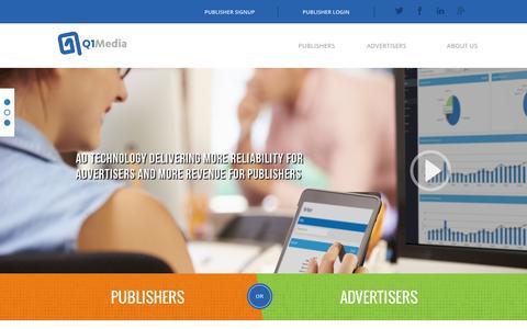 Q1Media: Premium Quality Video, Mobile & Display Advertising