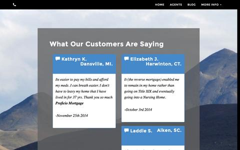 Screenshot of Testimonials Page proreverse.com - ProReverse | Testimonials - captured Feb. 1, 2016