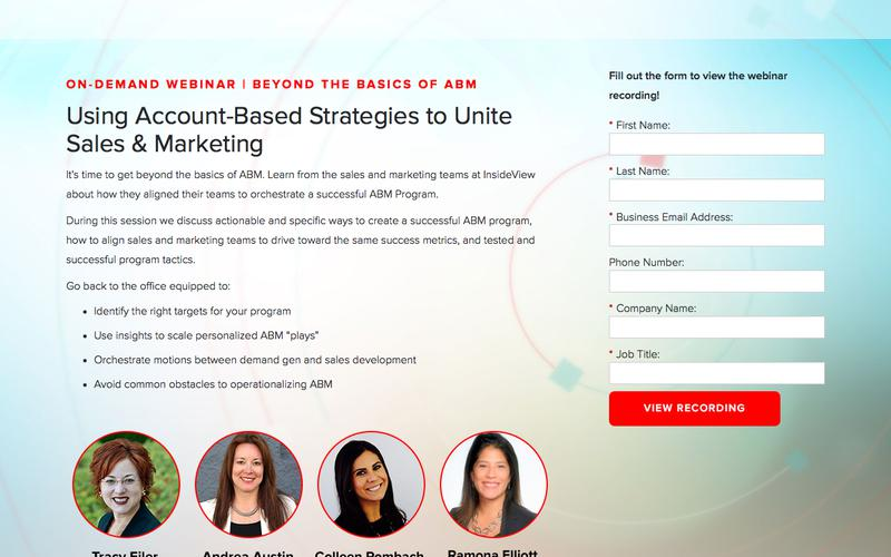 Beyond the Basics of ABM Webinar