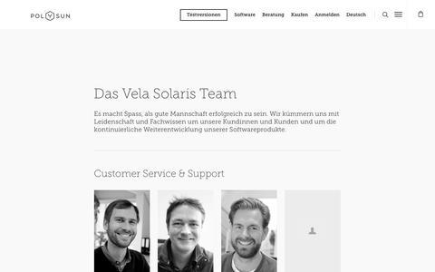 Screenshot of Team Page velasolaris.com - Team › Vela Solaris - captured Nov. 7, 2018