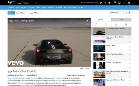Screenshot of Team Page wn.com - Team - captured Nov. 23, 2016
