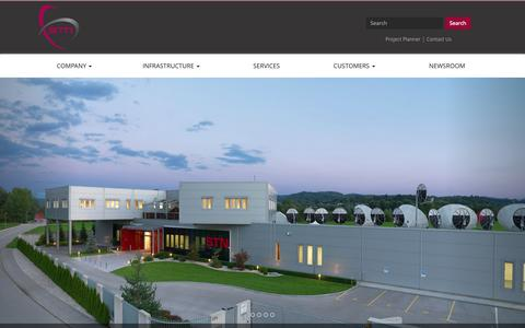 Screenshot of Home Page stn.si - STN | Teleport & Satellite Services - captured Oct. 13, 2015