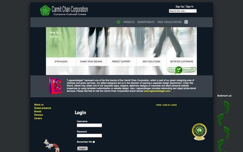 Screenshot of Login Page ca-c-co.com - Login - captured Oct. 2, 2014
